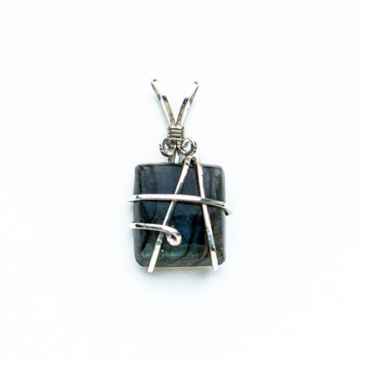 Earth Mother Godess  Labradorite held in Sterling Silver