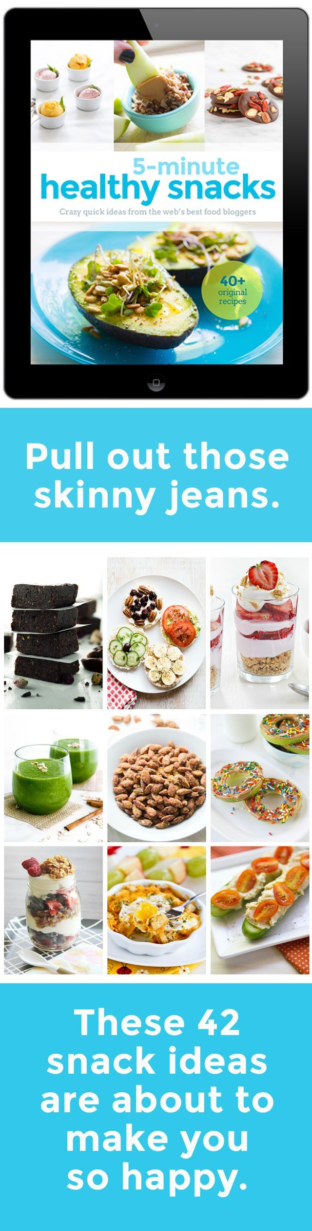 Pull out those skinny jeans because these 5 Minute Recipes - 5 Minute Healthy Snacks is your key to your weight management success!  http://www.flavoursandfrosting.com/5-minute-healthy-snacks