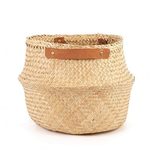Perfect for storing all of your essentials around the home, linen, toys, plants, shoes - or use in the bathroom for storing towels, and toiletries. Our leather-handled Belly Baskets are our pick this season for the must-have storage basket!