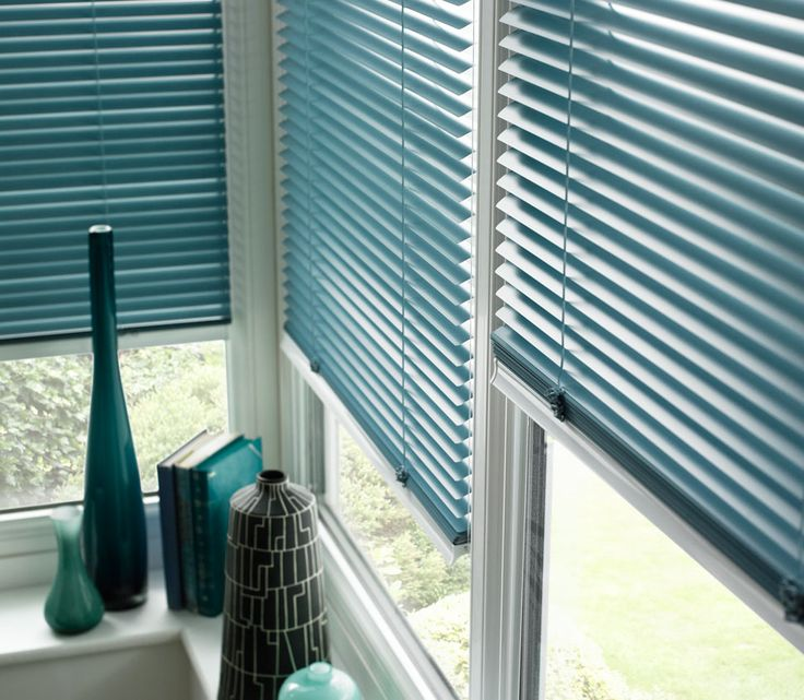 Blinds Turquoise Venetian Style