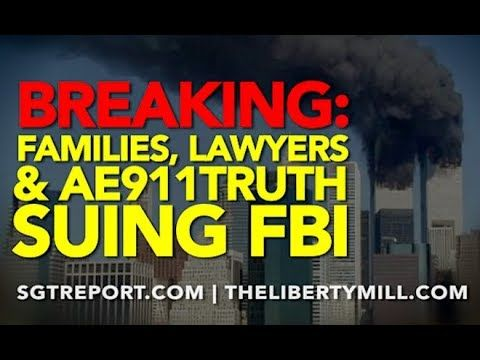 BREAKING: Families, Lawyers & AE911Truth ARE SUING…