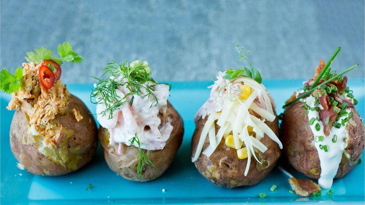 Beate er store, røde og kokefaste poteter som egner seg ypperlig til baking! Bakte poteter er enkelt og alle kan få sin egen favoritt.