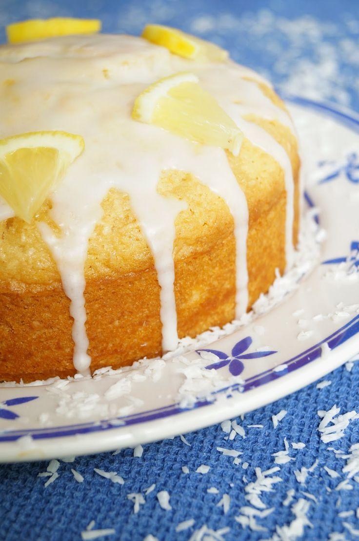 KNUSPERKABINETT: Bring mir die Sonne - oder Zitronen-Kokos-Kuchen... Karibik-Feeling auch im Winter :) all vegan all good