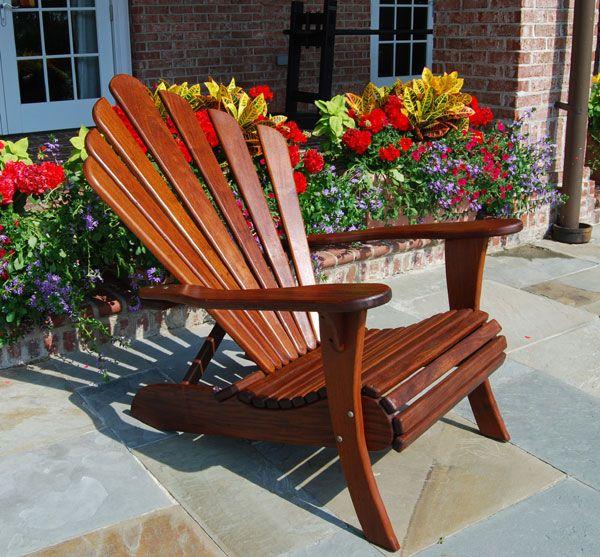 Brazilian Walnut Adirondack Chairs   Better Than Teak Adirondacks, Oiled. So  Pretty Gallery