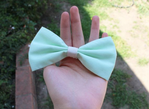 Sea green, Summer, Bows with Stars, Bow, Hair Bows for Teens, hair bow for women, solid color hair bow, girls hair bow barrette on Etsy, $3.99