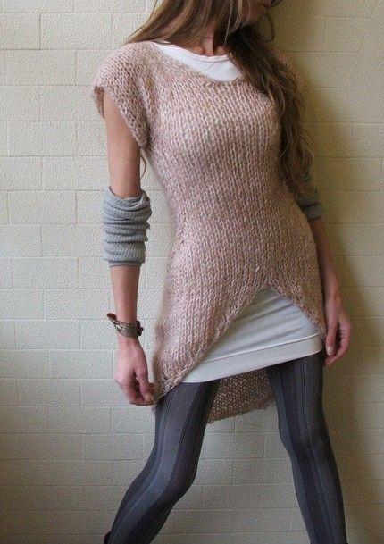 Jumper sweater dress