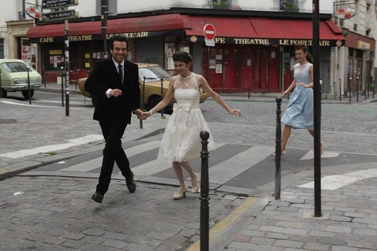 Wedding dress from Mood Indigo with Audrey Tatou