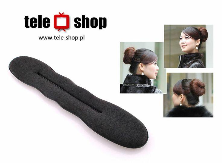 http://tele-shop.pl/ WYPEŁNIACZ KOKA TWISTER. Spinka twister do włosów umożliwiająca w prosty i szybki sposób wykonać efektownego koka na głowie.