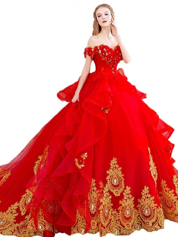 42 best red and black wedding dresses images on pinterest for Da vinci red wedding dress