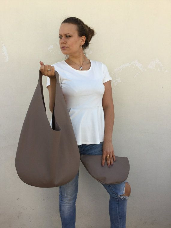 Hey, I found this really awesome Etsy listing at https://www.etsy.com/sg-en/listing/484299231/nude-leather-bag-hobo-leather-bag