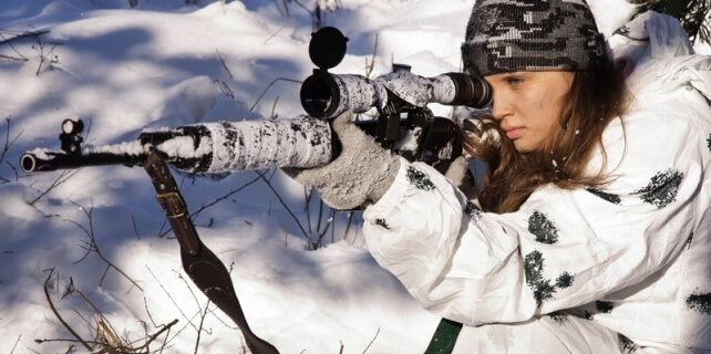 Sur'da En Büyük Tehlike Kadın Sniper! - http://inovasyonkocu.com/yasam/kadin/surda-en-buyuk-tehlike-kadin-sniper.html