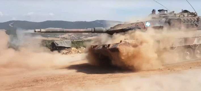 Το εντυπωσιακό βίντεο του ΓΕΣ -Μήνυμα αποτροπής του Δ' Σώματος Στρατού στη Θράκη
