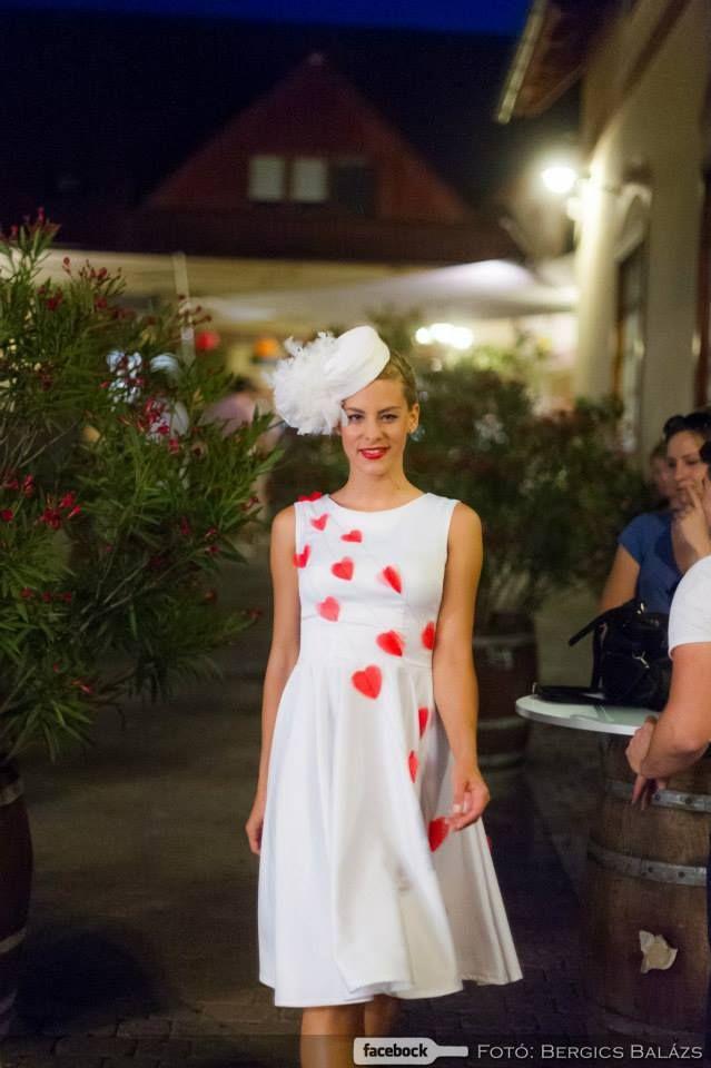 rockabilly wedding dress , red heart wedding dress pinup wedding dress  TiCCi Rockabilly Clothing