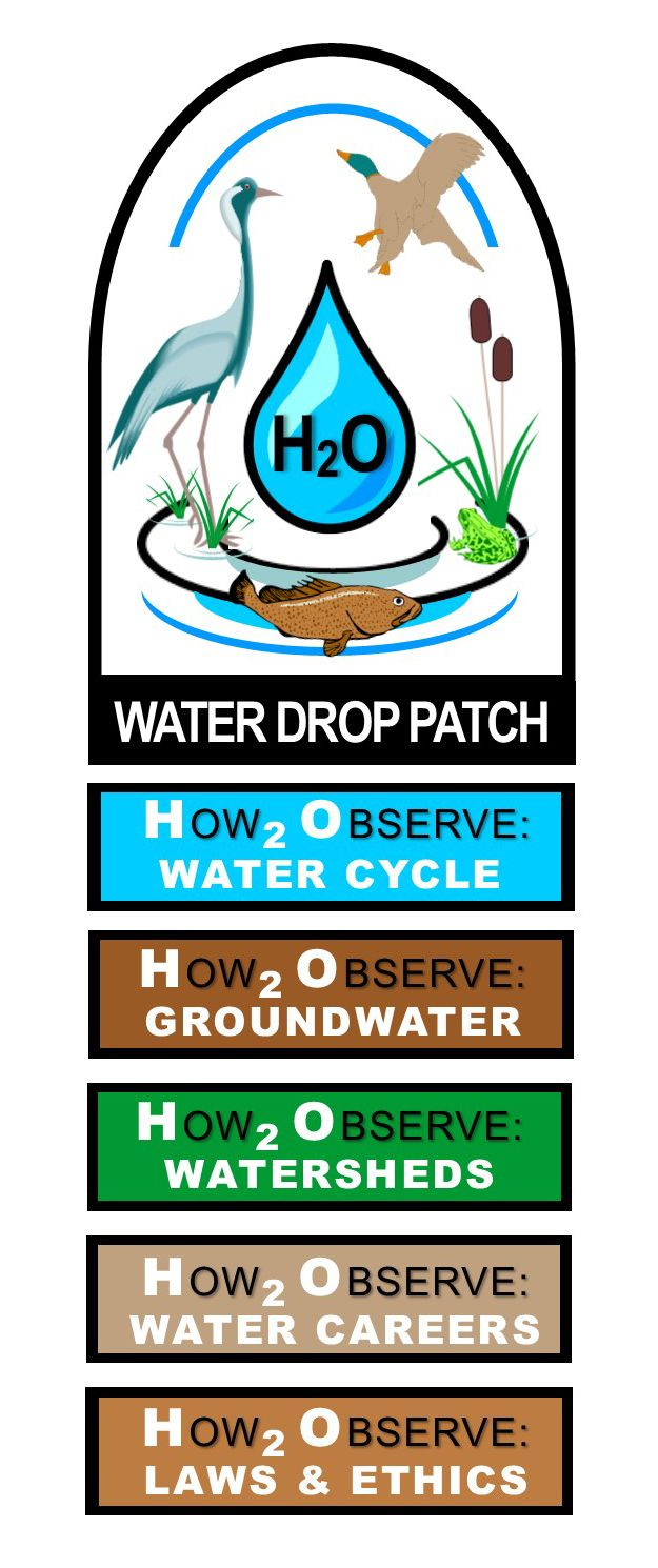 As detailed in a recent post on the U.S. Environmental Protection Agency's Big Blue Thread blog, EPA team members had the opportunity to rework the Girl Scouts' Water Drop Patch.