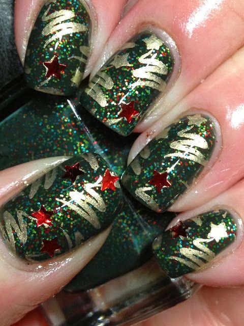 More Holiday Nails!