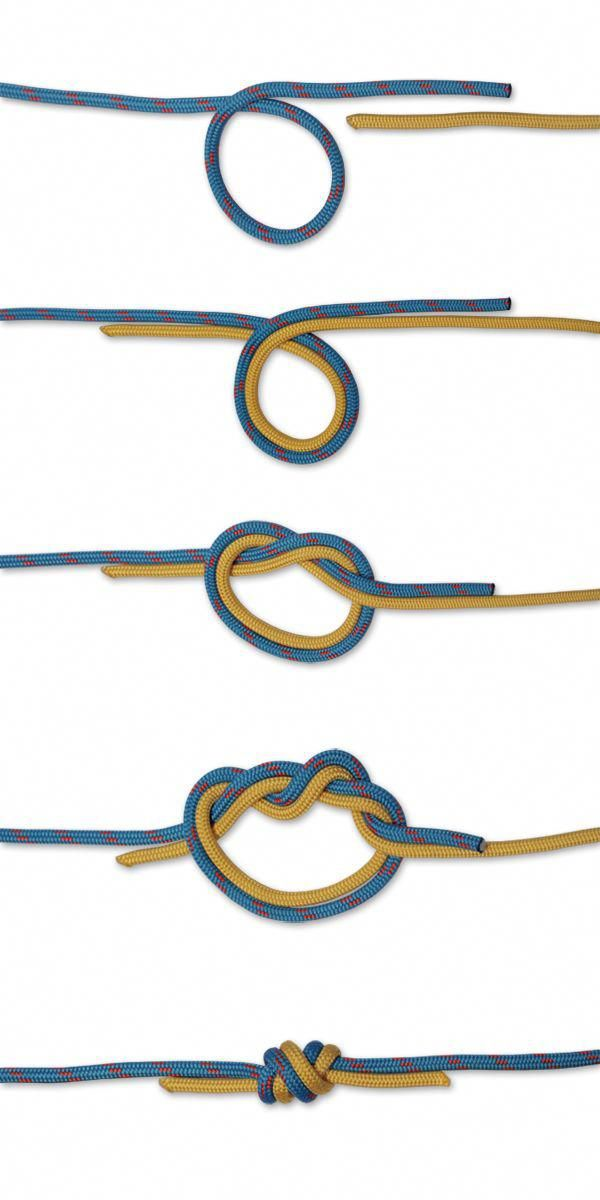 How To Tie A Surgeons Knot With Two Lines