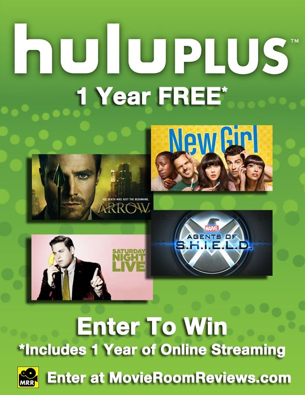 "Win a ""Free Year of #Hulu Plus"" from The Movie Network. Stream movies and tv shows online with Hulu Plus. #Giveaway #PinItToWinIt #Movies"