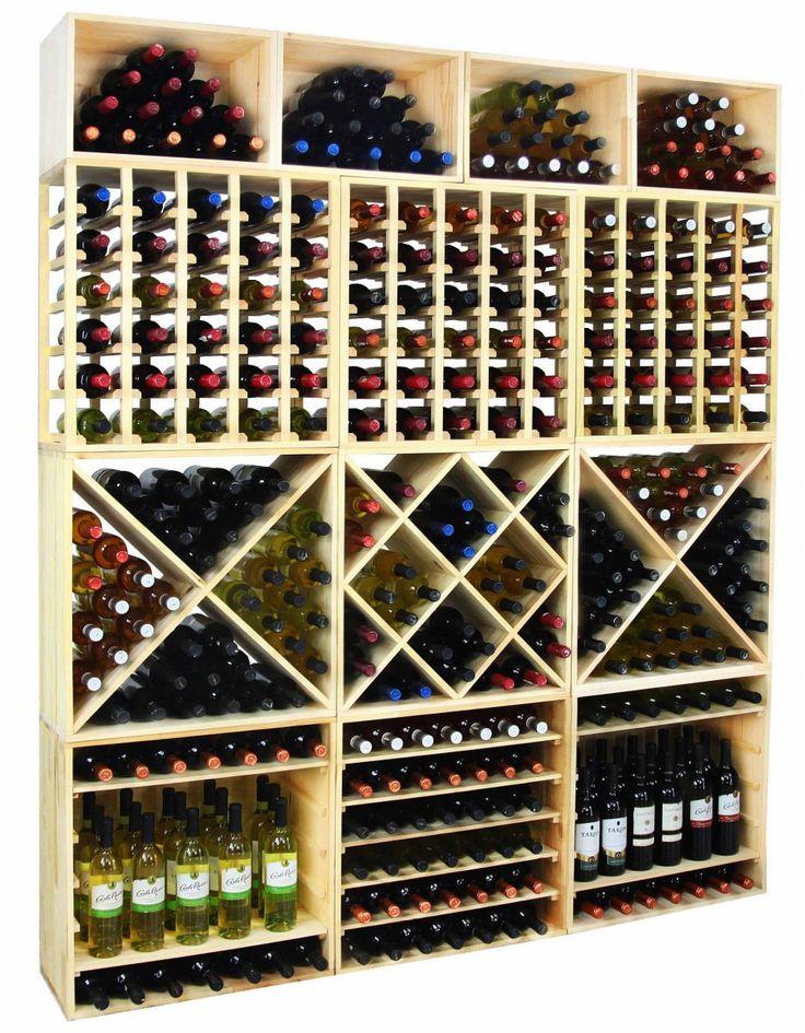 Regał na wino RW-6-4 60x60x30 - Seria RW-6 - Regały na wino