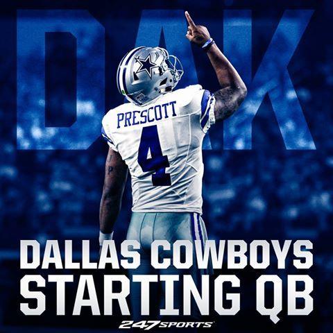 Ready or not, here comes Dak Prescott for the Dallas Cowboys!!