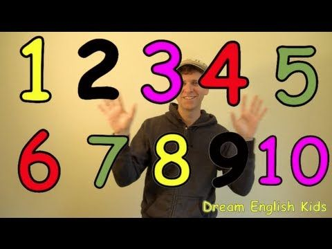 Numbers Song Let's Count 1-10 New Version.  Songs and learning tools for two year old.