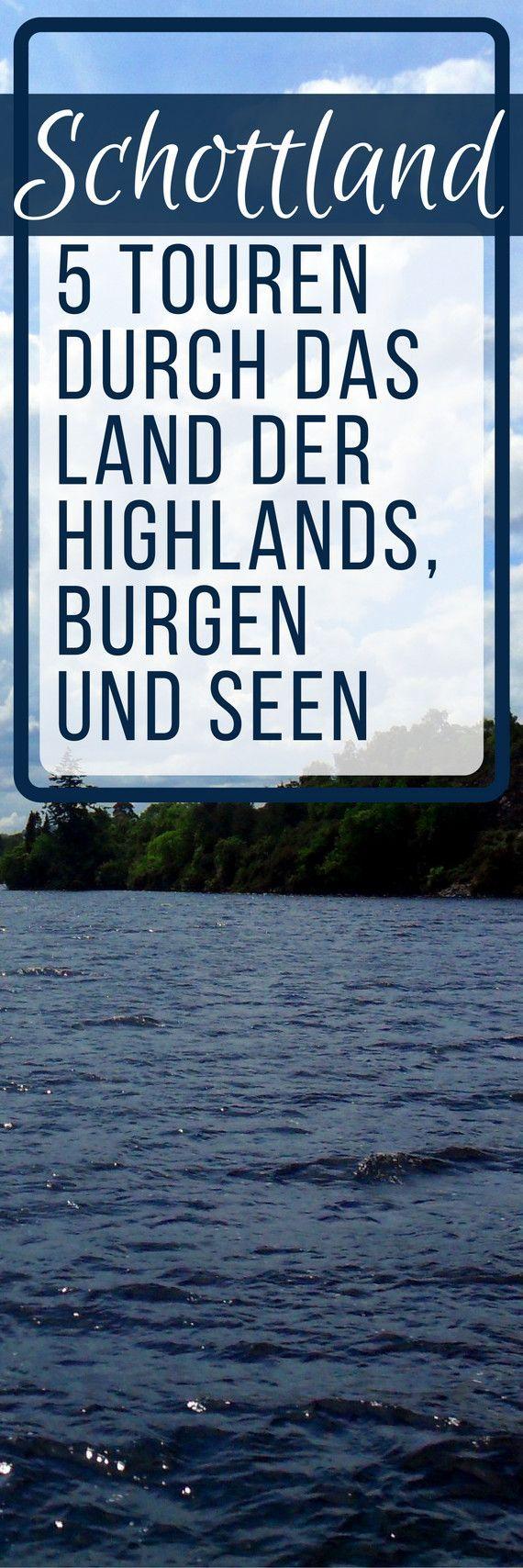 Abenteuer Schottland – 5 Touren durch das Land der Highlands, Burgen und SeenLaura Nierobisch