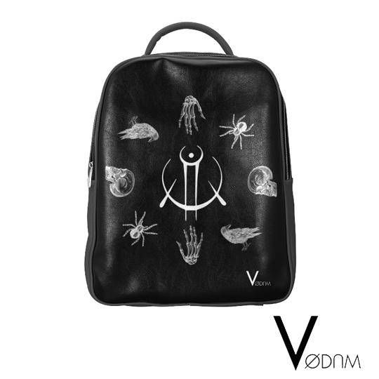 Occult BACKPACK Goth Magic Witchcraft Witch Rain Wicca Pagan