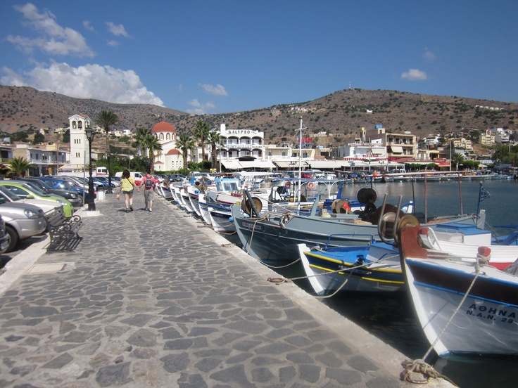 Elounda, Crete ~ would love to go back sometime. Crete is wonderful and many-faceted (loved Agios Nikolaos, too)