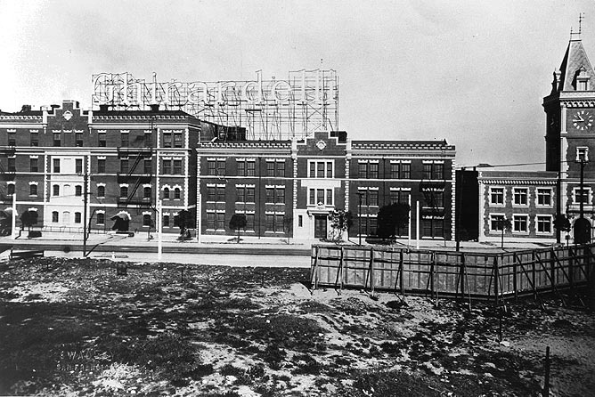 """In 1936, the area around the Ghirardelli Chocolate Factory was still """"undeveloped.""""    Photo: Greg Gaar Collection, San Francisco, CA"""