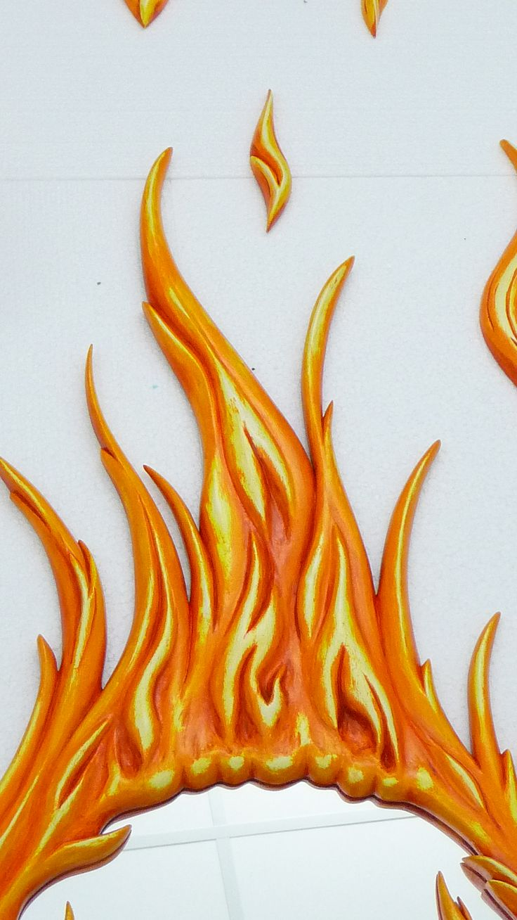 Top part of the flames... So much detailing..!