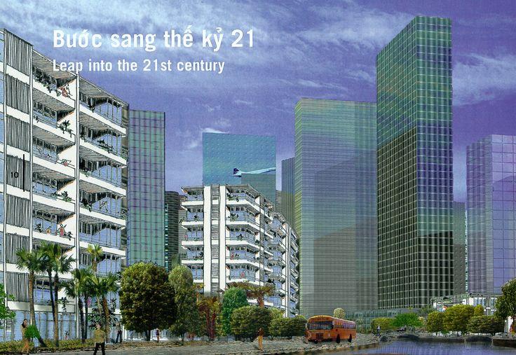 Hanoi New Town Masterplan. OMA (2007)