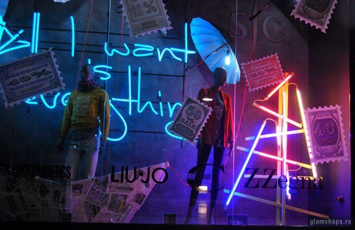 primario y 2 terciarios Sport / Couture shop windows, Bucharest