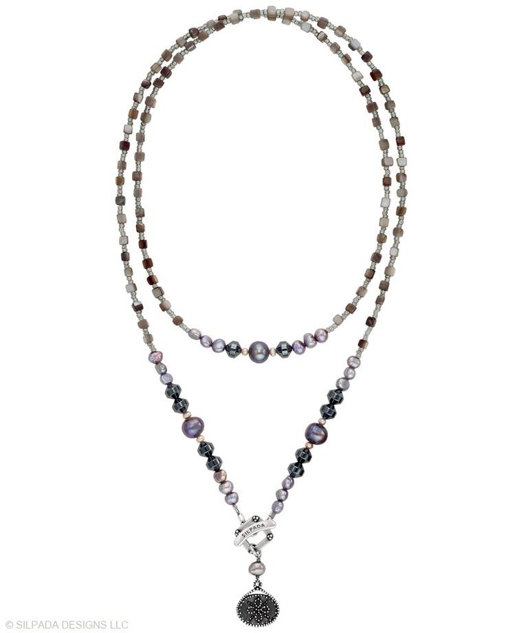 Silpada black asian earrings — 3