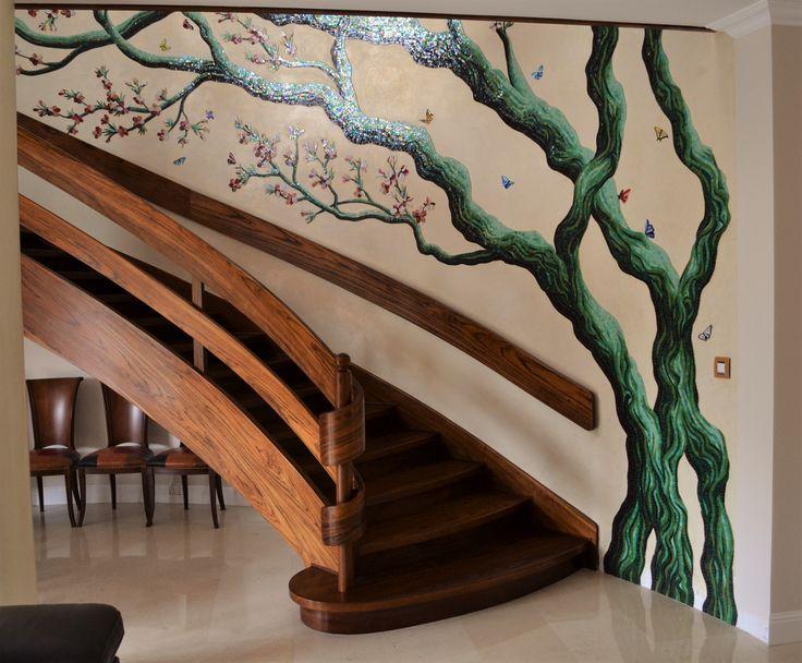 Mosaic tree decoration. #mosaictree
