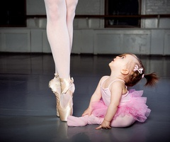 Ballerina-would be so awesome with sisters/cousins!