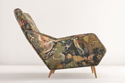 Gio Ponti, 1948. Sold at auction for a mere $40K.