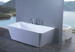 """Luciano Luxury Modern Bathtub 63"""""""