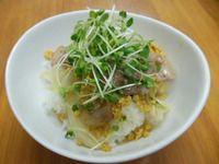 豚ロース塩カルビ丼 - 20130918