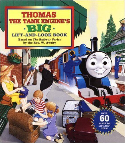 Thomas the Tank Engine's Big Lift And Look Book Board August 13, 1996 by HawkboxVintage on Etsy