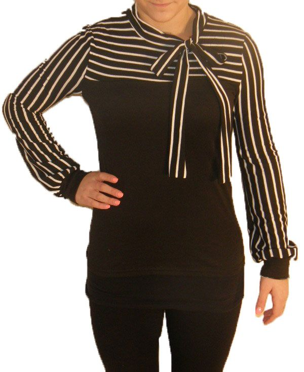 http://www.paperdollboutique.ca/tops-striped-tie-blouse-black.html