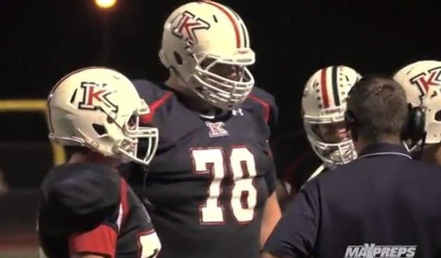 """Defensive Linemen """"John Krahn"""" Is The Biggest Football Player In The World! (7-Feet, 440-Pounds)"""