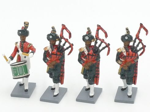 WBritain 40306 Pakistan Army Pipes & Drums Set 3 Collectors Club