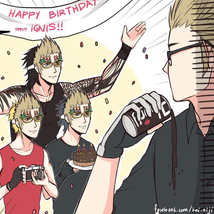 """Lol """"Happy Birthday Specs"""""""