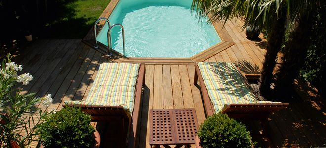 Les 25 meilleures id es de la cat gorie piscine bois for Acheter piscine bois