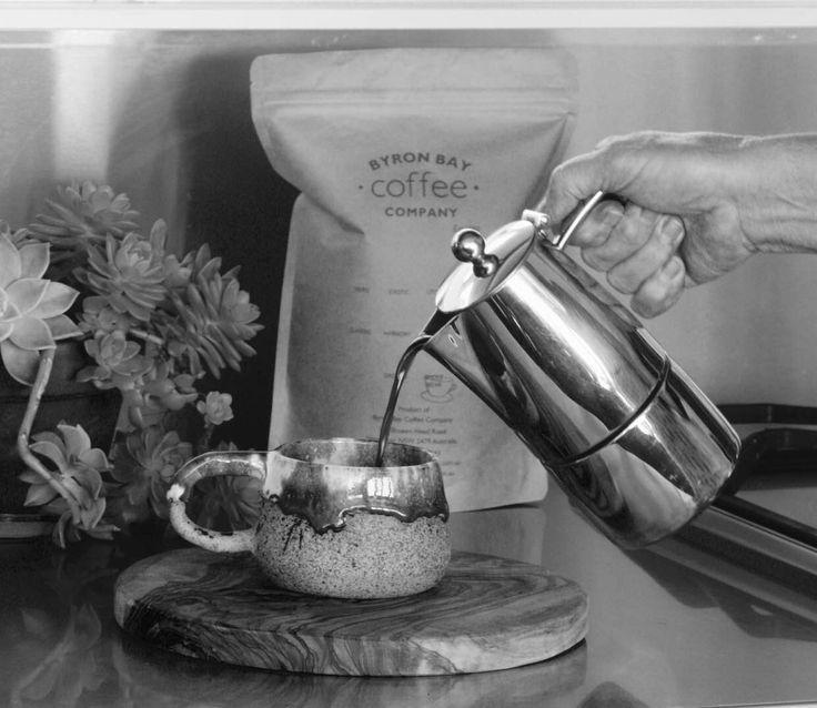 Making the perfect stovetop espresso brew ~ www.byronbaycoffeeco.com.au/blog