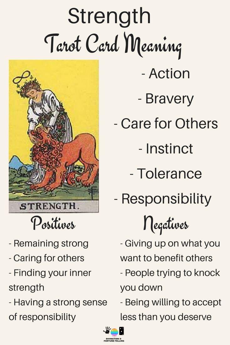 Future Tarot Meanings Strength With Images Strength Tarot