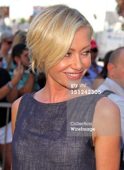 News Photo: Portia de Rossi attends Ellen DeGeneress induction into…