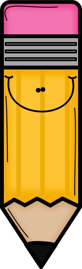 ORANGE PENCIL CLIP ART
