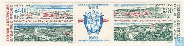 Postage Stamps - French Southern and Antarctic Lands - 50 Years Kerguelen