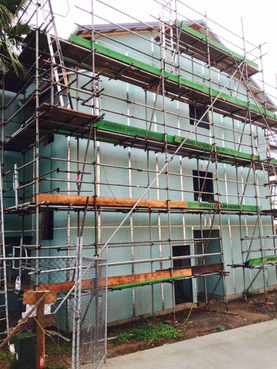 James Hardie's RAB Board Protects Against the Elements - #jameshardie #buildtough #precladding #homerab