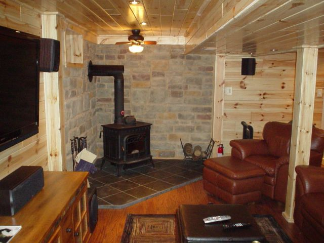 8 best man cave storage building images on pinterest for Log cabin basement ideas